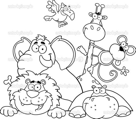 Coloring Pages Animals by 30 Jungle Animals Coloring Page Realistic Jungle Animal