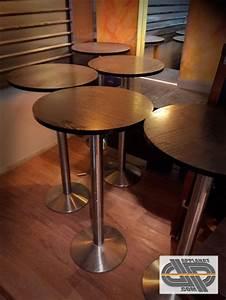 Table D Occasion : lot de 7 tables mange debout bois occasion vendu ~ Teatrodelosmanantiales.com Idées de Décoration