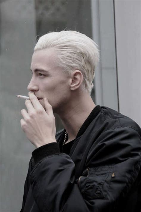 Bleached Hair For Males Achieve The Platinum Blonde