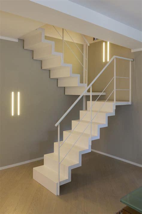 staircase  resin steel  glass balustrade idfdesign