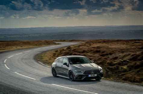 The engine lineup includes a variety of gasoline and diesel. Mercedes-AMG CLA 45 S Shooting Brake 2020 UK review | Autocar