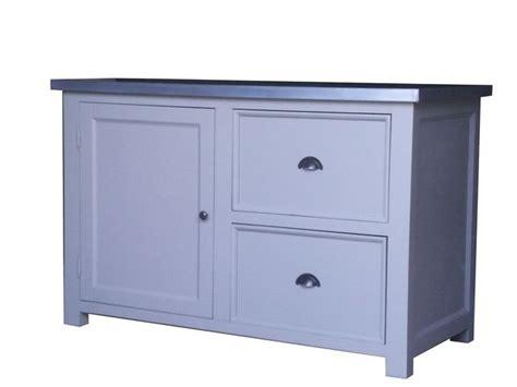 meuble cuisine zinc meuble de cuisine de cagne en bois moissif et zinc
