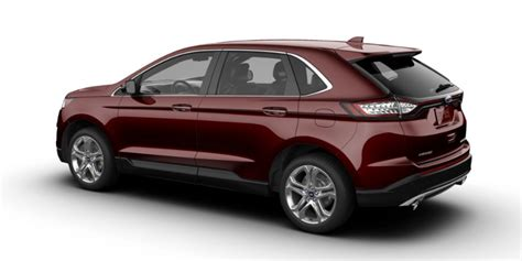 edge color what colors does the new 2018 ford edge come in