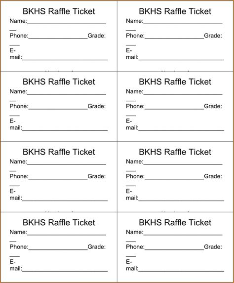 cool ballot templates drawing slips template raffle ticket template 3 png