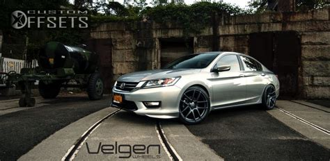 Wheel Offset 2013 Honda Accord Flush Dropped 3 Custom Rims