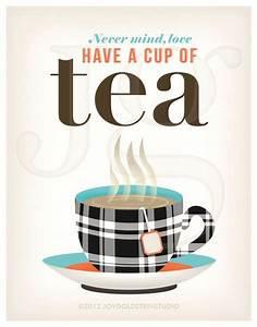 Kitchen Tea Art... British Tea Quotes