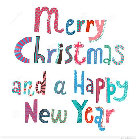 Merry Clipart - merry and happy new year