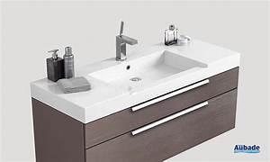 meuble salle de bain 120 cm simple vasque carrelage With meuble salle de bain 140 cm simple vasque