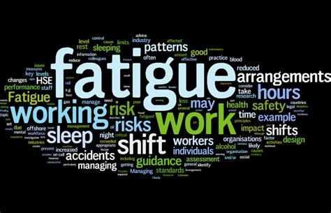 fatigue human factors