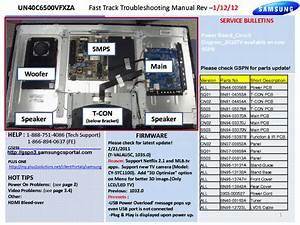 Samsung Un40c6500vfxza Fast Track Guide Service Manual