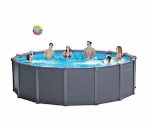 Filtre A Piscine Intex : piscine intex graphite 4 78x1 24 filtre a sable cash ~ Dailycaller-alerts.com Idées de Décoration