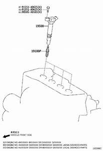 31 2007 Toyota Sienna Ignition Coil Diagram