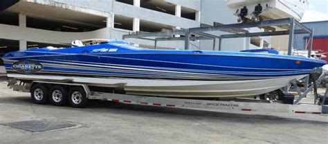 Cigarette Boats For Sale by Lip Ship Performance Cigarette Racing Team