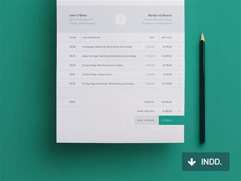 striking invoice designs web graphic design bashooka