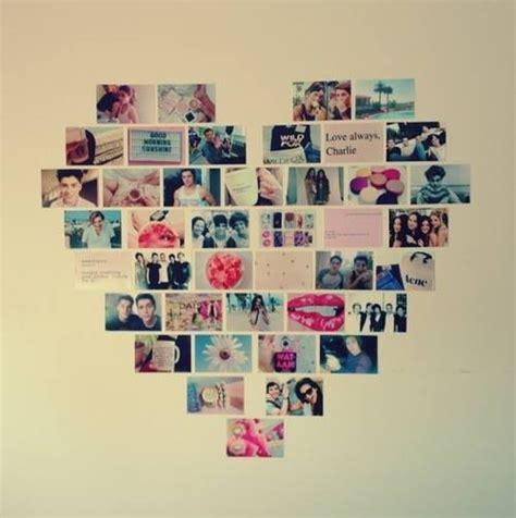 comment mettre des post it sur le bureau windows 7 decoração coração com fotos na parede diá da aninha