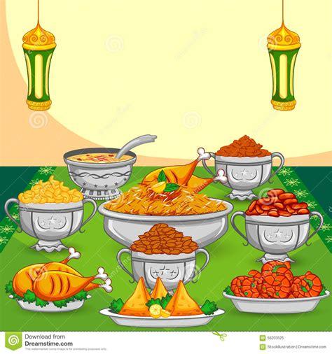cuisine ramadan ramadan iftar food stock vector illustration of kheer