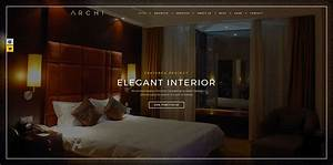 Top 20 interior design wordpress themes for your future site for Interior decor wordpress theme