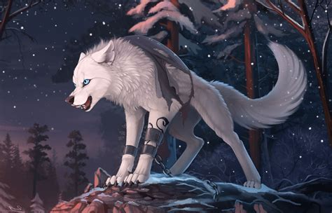 Anime Wolf Wallpaper - wolf wallpaper 75 images