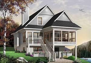 four seasons sloping lot cottage 2107dr 1st floor With couleur de maison tendance exterieur