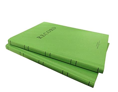 2x Green Categories Military Log Books, Record Memorandum