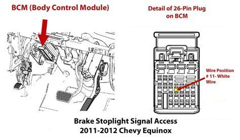 locating brake stoplight signal  install brake