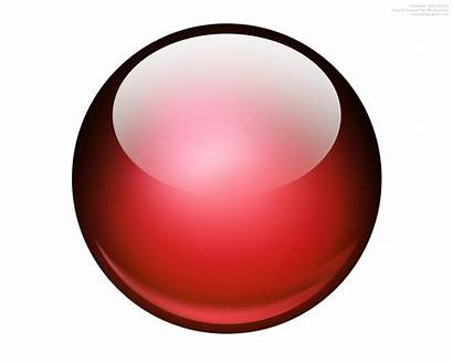 Ball 3d Icon Glossy Background Sphere Button