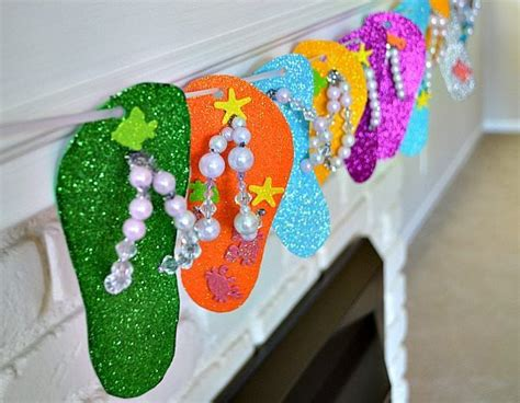 flip flops crafts would make a great kid s activity for 717 | a3b969d8dfdca138f1c1fac4eaa4db91