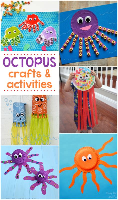 16 octopus crafts amp activities kid stuff octopus 650 | c5621cea363c25a0ea433611644d9746