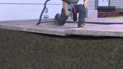 polylevel foam concrete lifting and concrete leveling