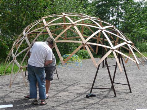 Geodätische Kuppel Bauen by Martins Netzwerkstatt 187 Dome