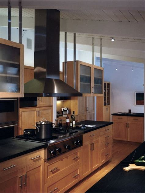 maple cabinets houzz