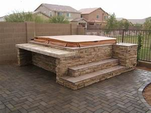 Hot Tub Surrounds & Spa Surrounds by The Yard Company