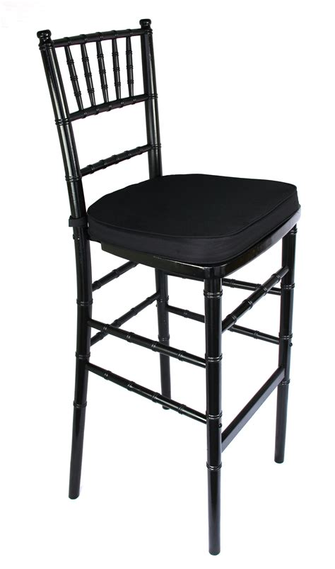 black chiavari bar stool united rent all omaha