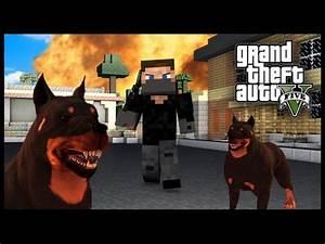 Minecraft - GTA V Mod - Grand Theft Auto 5 - GUARD DOGS ...