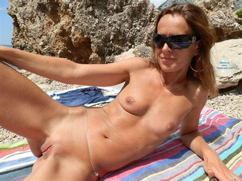 Teasing Naked On The Beach November Voyeur Web