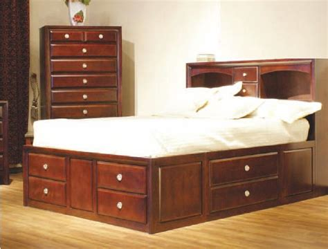 woodwork platform bed  storage drawers plans  plans