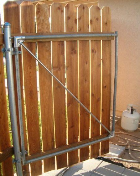 wood fence  metal post fence gate detail jpgajpg
