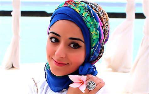 maldives turban hijab tutorial  hot weather
