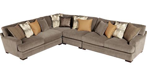 living room  elegant cindy crawford sectional sofa