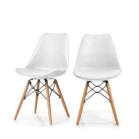 Lot De 2 Chaises Design Dogewood By Drawer