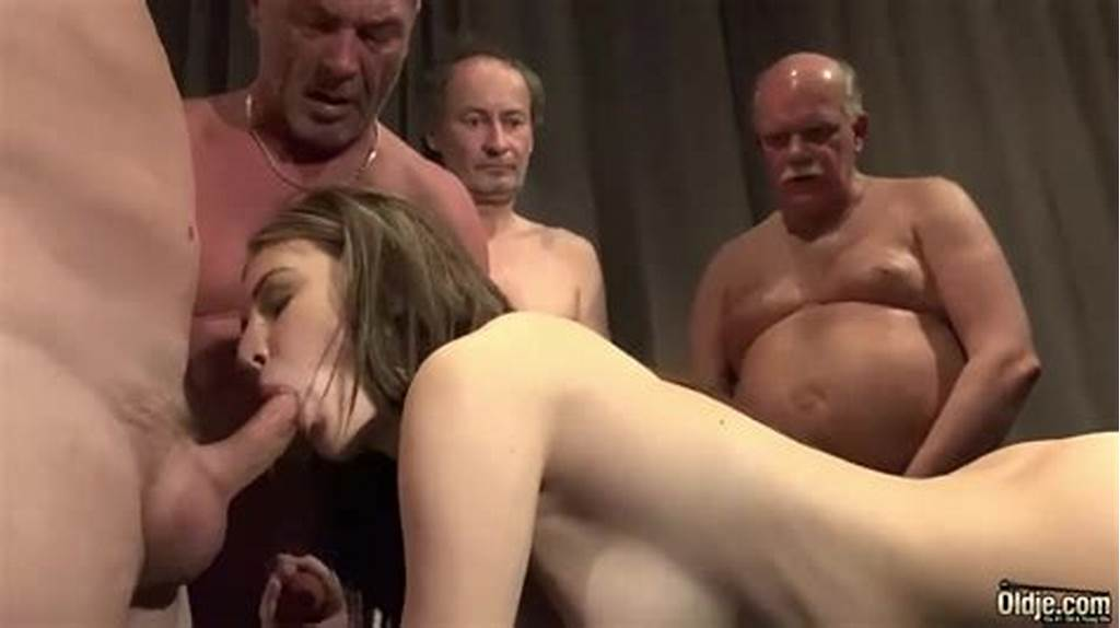 #Old #Young #Porn #Teen #Gangbang #By #Grandpas #Pussy #Fucking