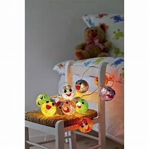 Guirlande Lumineuse Chambre : guirlande lumineuse funny faces ~ Teatrodelosmanantiales.com Idées de Décoration