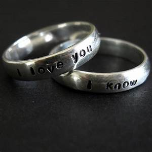 post your funny engraving ideas for wedding ring weddingbee With ridiculous wedding rings
