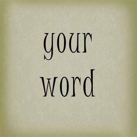 your word is a l because i said so amber allen publishing inc