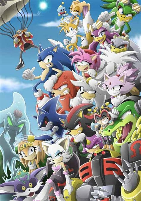 Awesome Collection Of Sonic The Hedgehog Fan Art Tv