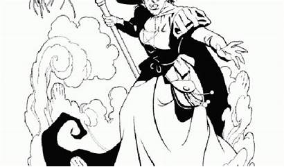Coloring Wicked Witch Pages Oz Wizard West