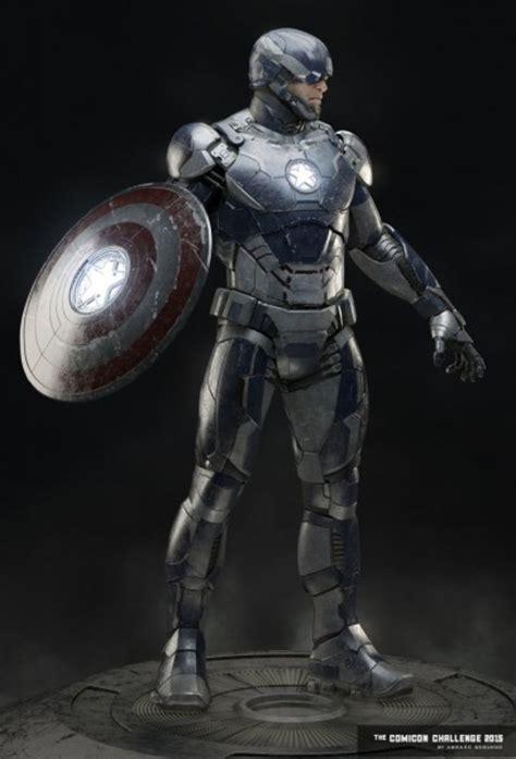 check   fan  iron man armor  captain america