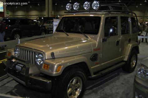 Jeep Dakar by 1997 Jeep Dakar Concept Images Photo Jeep Dakar Dv 06 Has