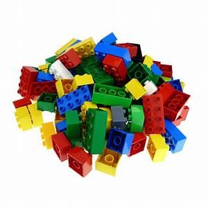 LEGO DUPLO 10 X 8er NOPPEN flache STEINE BAUSTEINE DUPLOSTEINE Bunt Platten LEGO Bau- & Konstruktionsspielzeug