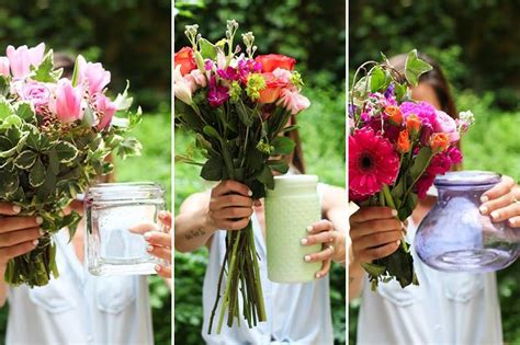 Cutting Flowers For Vase Size